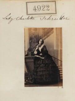 Lady Charlotte Elizabeth Schreiber (née Bertie), by Camille Silvy - NPG Ax54930