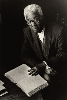 C.L.R. James, by Val Wilmer, for  Format Photographers - NPG x133130