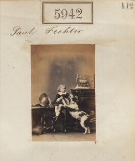 Paul Fechter, by Camille Silvy - NPG Ax55897