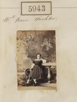Marie Fechter, by Camille Silvy - NPG Ax55898