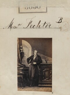 Charles Albert Fechter, by Camille Silvy - NPG Ax58473