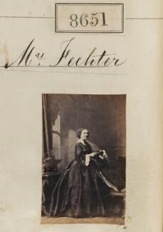 Mrs Charles Albert Fechter (née Rolbert), by Camille Silvy - NPG Ax58474