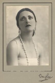 Harriet Cohen, by Vaughan & Freeman - NPG x39286