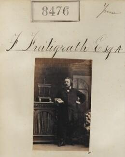 Ferdinand Freiligrath, by Camille Silvy - NPG Ax58298
