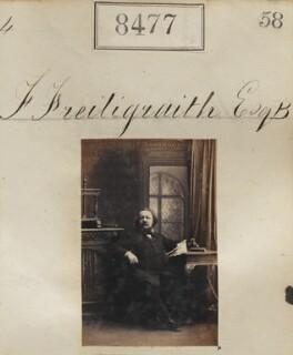 Ferdinand Freiligrath, by Camille Silvy - NPG Ax58299