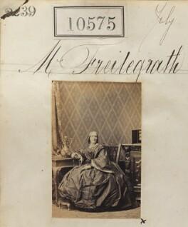 Ida Freiligrath (née Melos), by Camille Silvy - NPG Ax60289