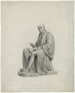 James Wood, by Edward Richard Whitfield, and by  Henry Corbould, after  Edward Hodges Baily - NPG D37014