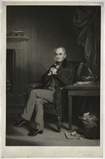 Richard Wood, by James Faed the Elder, after  Sir Francis Grant - NPG D37016