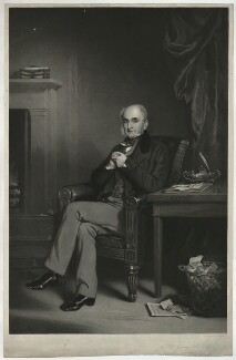 Richard Wood, by James Faed the Elder, after  Sir Francis Grant - NPG D37017