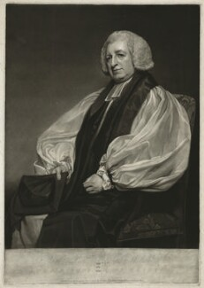 Christopher Wilson, by and published by John Jones, after  George Romney - NPG D37018