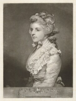 Fanny Kemble, by John Jones, after  Sir Joshua Reynolds - NPG D36819