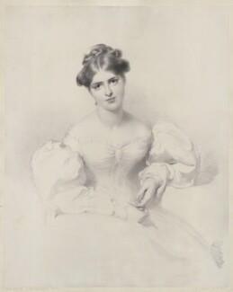 Fanny Kemble, by Richard James Lane, after  Sir Thomas Lawrence, published 1829-1830 - NPG D36823 - © National Portrait Gallery, London