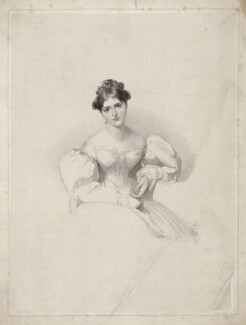 Fanny Kemble, by Charles Picart, after  Sir Thomas Lawrence - NPG D36827