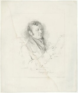 Joseph Wilson, by W. Joseph Edwards, published by  Henry Graves & Co, after  George Richmond - NPG D37029