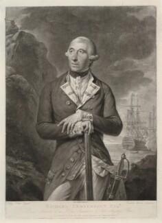 Richard Kempenfelt, by Richard Earlom, published by  John Boydell, after  Tilly Kettle - NPG D36829