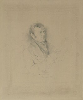 Joseph Wilson, by W. Joseph Edwards, published by  Henry Graves & Co, after  George Richmond - NPG D37030