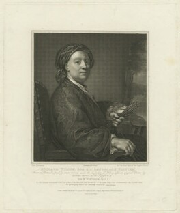 Richard Wilson, by William Bond, printed by  Bell & Wright, published by  Longman & Co, published by  Josiah Taylor, published by  William Bond, after  Anton Raphael Mengs - NPG D37031