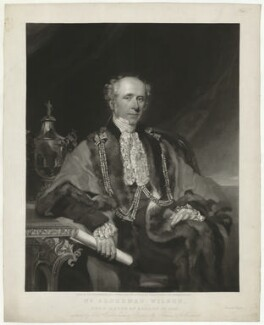 Samuel Wilson, by and published by William Walker, after  Thomas Woolnoth - NPG D37036