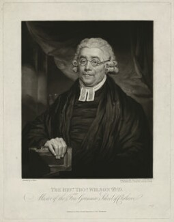 Thomas Wilson, by William Ward, published by  Vittore Zanetti, after  Joseph Allen - NPG D37039
