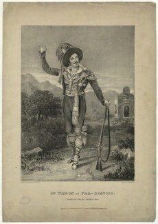 Mr Wilson as Fra-Diavolo, by John William Gear, printed by  Charles Joseph Hullmandel, published by  T. Gillard - NPG D37040