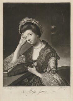 Polly Kennedy (Polly Jones), by James Wilson, after  Katharine Read - NPG D36835
