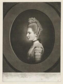 Polly Kennedy (Polly Jones), by James Watson, after  Hugh Douglas Hamilton - NPG D36836