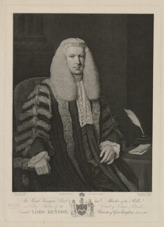 Lloyd Kenyon, 1st Baron Kenyon, by James Fittler, published by  Robert Cribb & Son, after  John Opie - NPG D36841