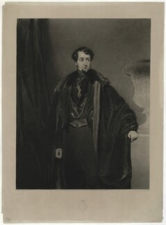 Thomas Grosvenor Egerton, 2nd Earl of Wilton, by Charles Turner, published by  Sir Francis Graham Moon, 1st Bt, after  John Bostock - NPG D37043
