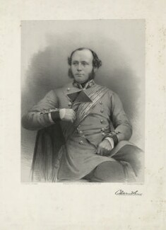 Sir Charles Ash Windham, by James Henry Lynch, after  Roger Fenton, printed by  M & N Hanhart, published by  H.T. Cooke & Son - NPG D37052