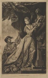 Lady Elizabeth Keppel, by Edward Fisher, after  Sir Joshua Reynolds - NPG D36849