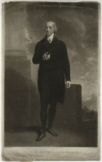 Hon. William Windham, by and published by Samuel William Reynolds, sold by  William Freeman, after  John Hoppner, published 1804 - NPG D37057 - © National Portrait Gallery, London