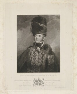 Sir Edward Kerrison, 1st Bt, by and published by William Camden Edwards, published by  Josiah Boydell, after  Sir Martin Archer Shee - NPG D36852