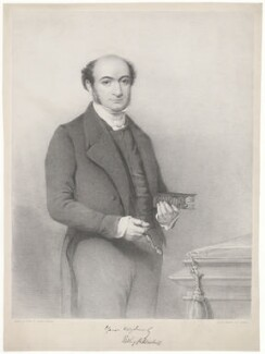 Ridley Haim Herschell, printed by M & N Hanhart, after  Thomas Fairland - NPG D36856