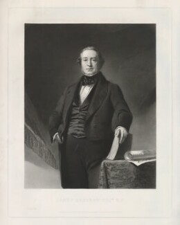 James Kershaw, by Samuel Bellin, printed by  W. Hatton, published by  Thomas Agnew & Sons Ltd, after  Philip Westcott - NPG D36857