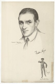 Nelson Waite Keys and as Captain Hercules Chutney in 'The Passing Show of 1915', after Charles Buchel (Karl August Büchel), after  John Hassall - NPG D36862