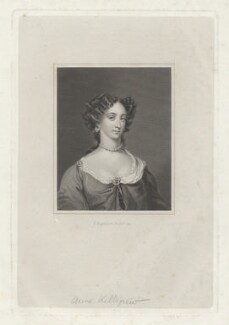 Anne Killigrew, by Francis Engleheart, after  Sir Peter Lely - NPG D36863