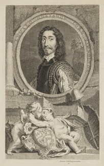 Edward Montagu, 2nd Earl of Manchester, published by John & Paul Knapton, after  Sir Anthony van Dyck, mid 18th century - NPG D36865 - © National Portrait Gallery, London