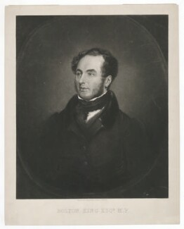 Edward Bolton King, by Samuel Angell, after  Edmund Ward Gill - NPG D36867