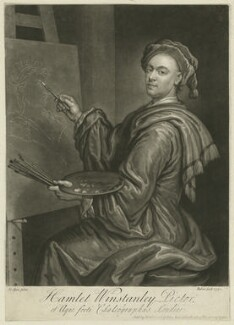 Hamlet Winstanley, by John Faber Jr, after  Hamlet Winstanley - NPG D37062