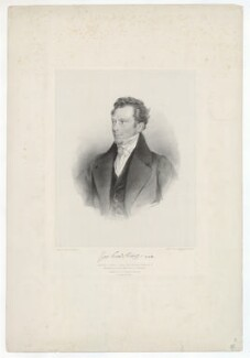 Joshua King, by James Dickson, printed by  M & N Hanhart, published by  Robert Roe, after  E. Warren - NPG D36872
