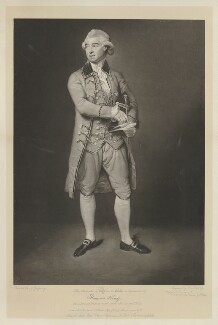 Thomas King, by John Young, after  Johan Joseph Zoffany - NPG D36875