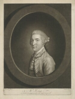 Thomas King, by John Raphael Smith, published by  Samuel Hooper, after  Hugh Douglas Hamilton - NPG D36876