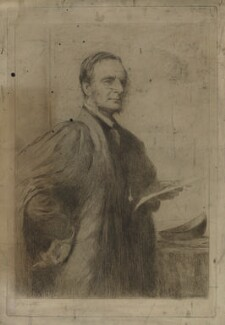 Charles Kingsley, after Lowes Cato Dickinson - NPG D36879