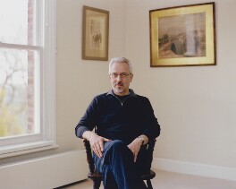 Alan Hollinghurst, by Mary McCartney - NPG P1355