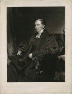 David Williams, by William James Ward, after  Henry William Pickersgill - NPG D37078