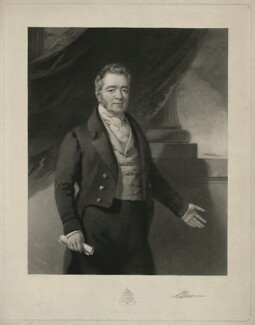 J. Williams, by Samuel Bellin, published by  William Shone, after  William Jones - NPG D37080