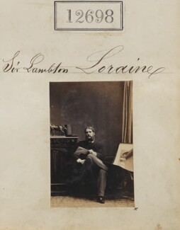 Sir Lambton Loraine, 11th Bt, by Camille Silvy - NPG Ax62341