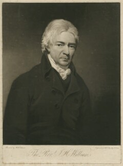 John Henry Williams, by William Say, after  William Artaud - NPG D37081