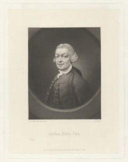 John (John) Joshua Kirby, by James Scott, published by  Henry Graves & Co, after  Thomas Gainsborough - NPG D36886