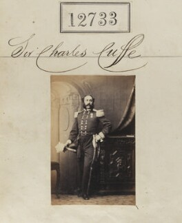 Sir Charles Frederick Denny Wheeler-Cuffe, 2nd Bt, by Camille Silvy - NPG Ax62376